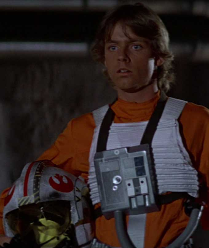 Image result for luke skywalker pilot image