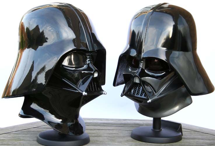 Vader Helmet Comparison