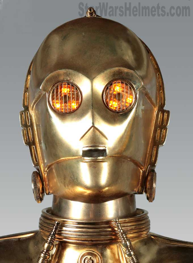 sideshow collectibles c 3po and r2 d2 droid life sizes. Black Bedroom Furniture Sets. Home Design Ideas