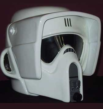 scout stormtrooper motorcycle helmet  Click on a helmet below