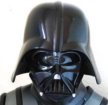 Licensed Replica Darth Vader Helmets And Costumes
