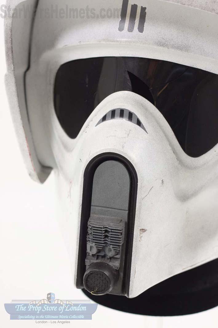 Star Wars Helmets Review Of Original Biker Scout Trooper