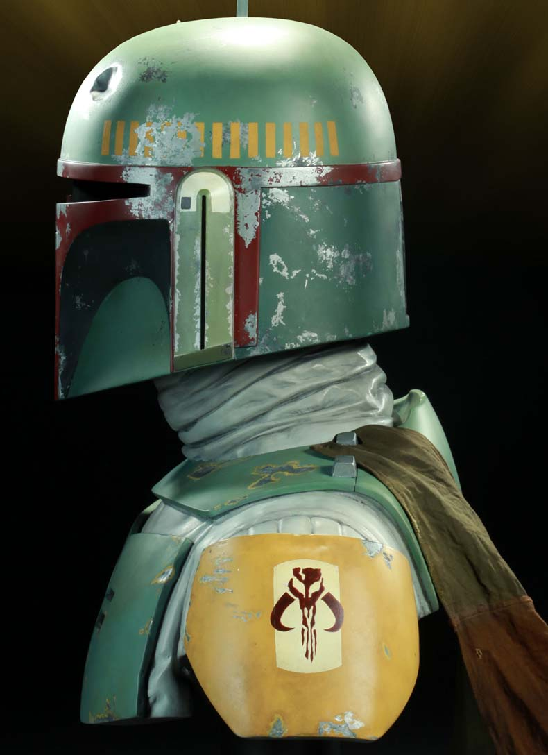 Boba Fett Life Size Bust Archive Page 2 Statue Forum