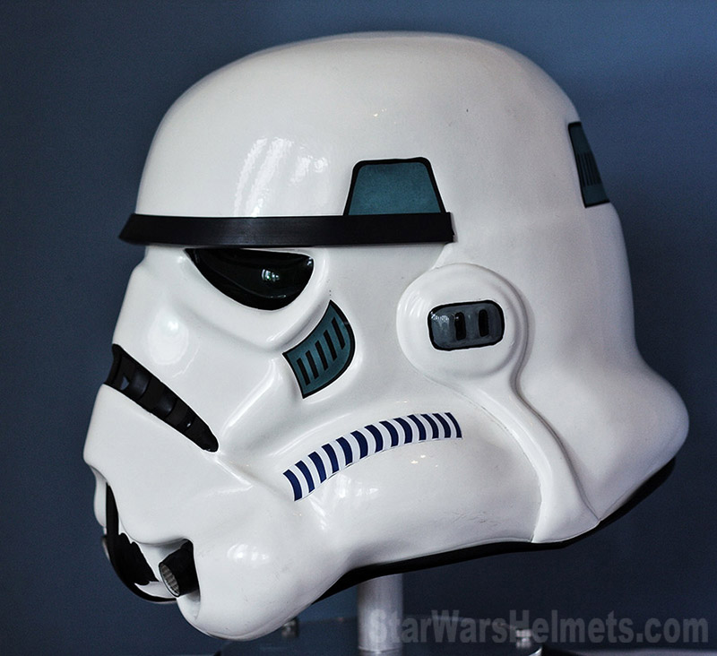 Unlike The ANH/ESB Helmets, Everything On The Original RotJ Stormtrooper  Helmets Was Glued Together And This Is Most Apparent When You Look At The  Ears (no ...