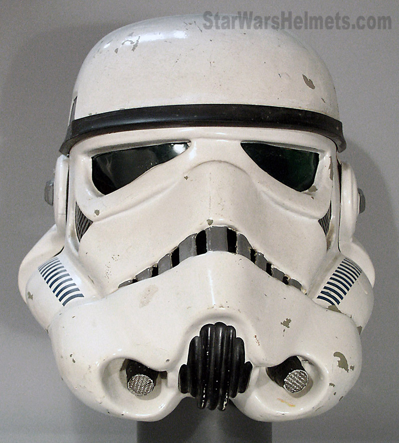 Note That With All The ANH Helmets All The Detailing Was Hand Painted,  There Were No Decals Used On The ...