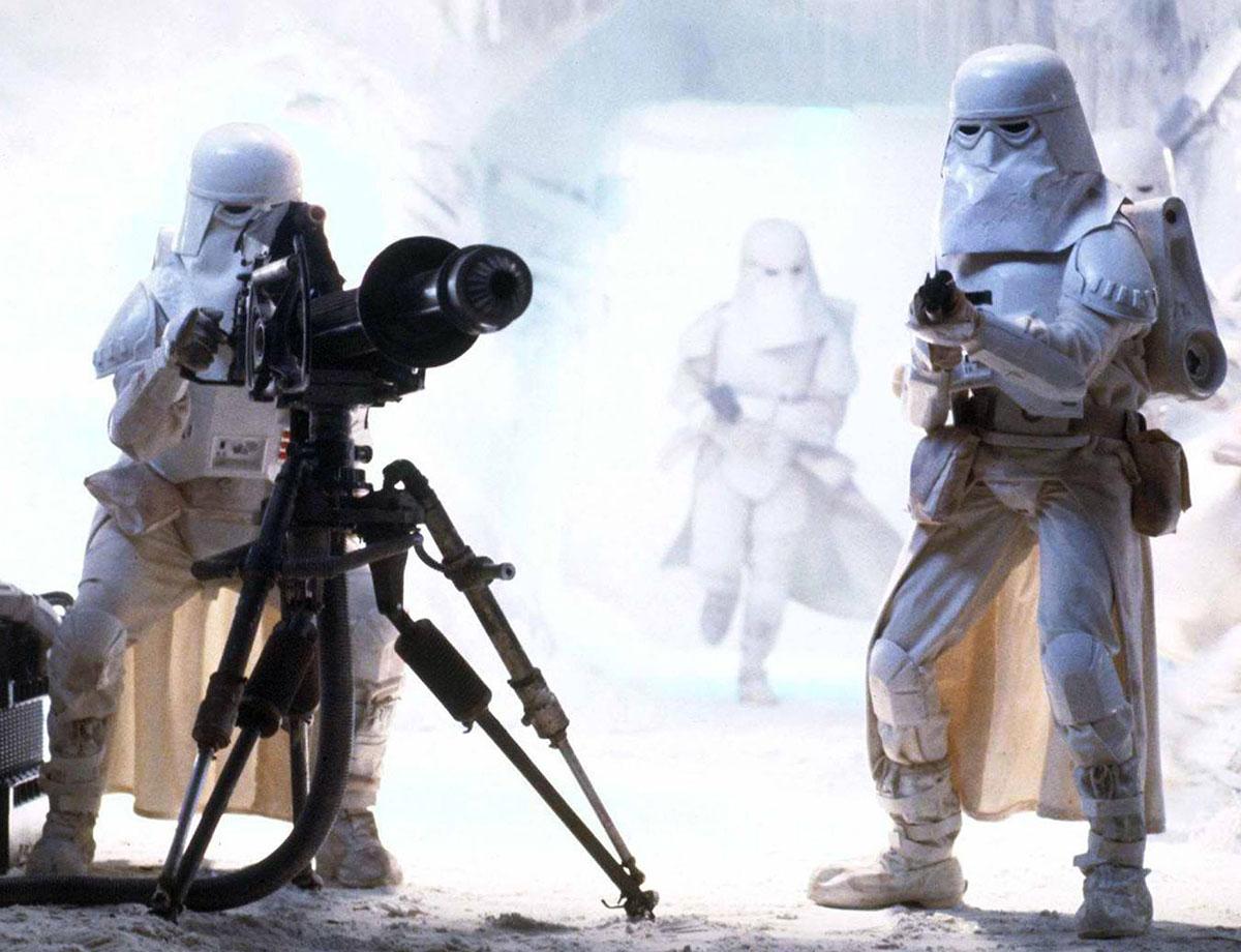 Repro Dengar Blaster Rifle Gun Star Wars Replacement Snowtrooper
