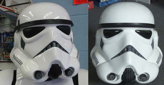 Don Post Stormtrooper Helmets