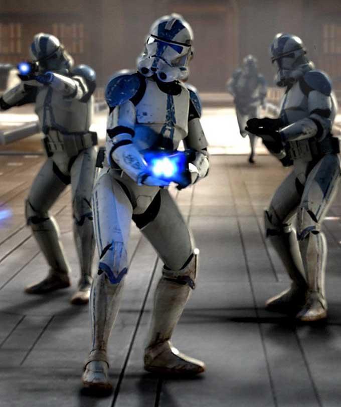 Original Clone Trooper Helmets and Armor
