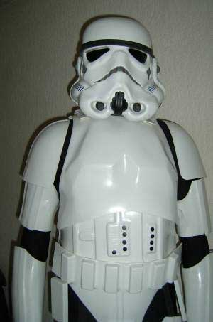 ... of his RotJ helmet and armor and they do look a little better likeness to the screen-used costumes however I donu0027t know whether his delivery timescales ... & fan made stormtrooper helmets