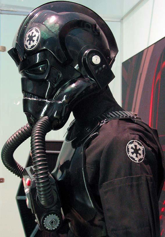 Air force motorcycle helmet