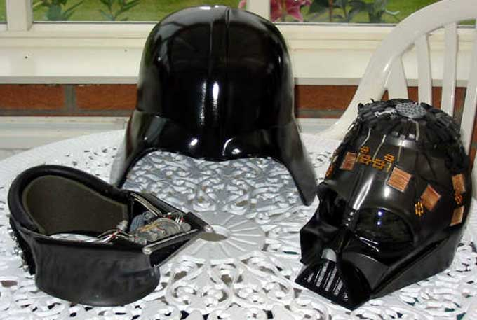 Star wars Darth Vader costume parts greeblies