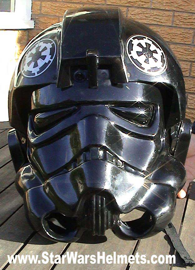 Pics For > Tie Fighter Pilot Helmet Tie Fighter Pilot Helmet