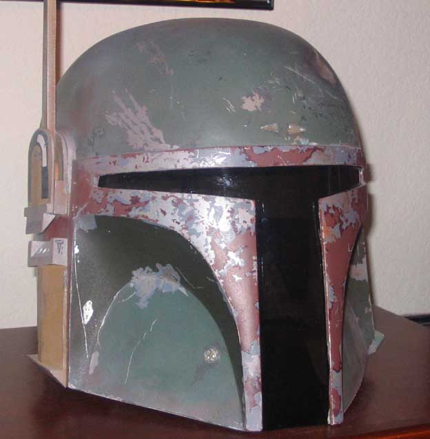 Below another great helmet - this one featured on the excellent Dented Helmet (the best place to find Boba/Jango Information). & Fan Made Boba Fett Costume