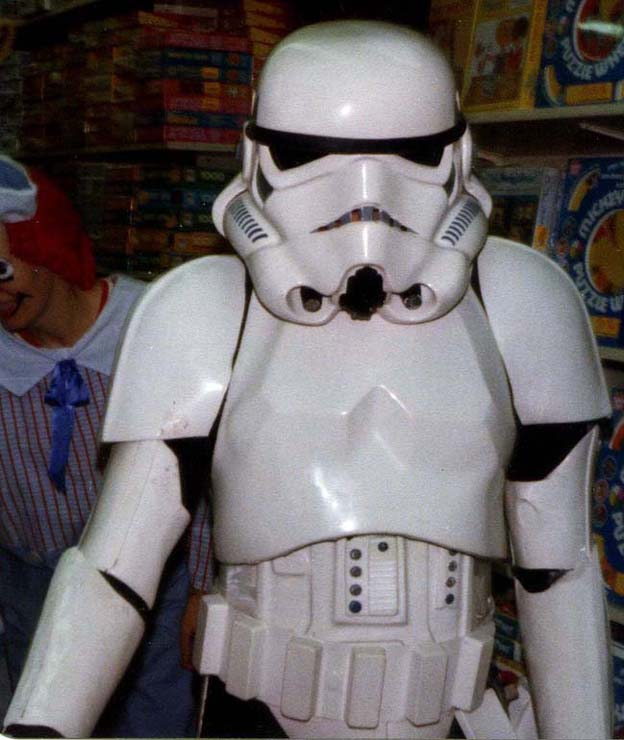 ... of unique shots taken by Todd (TK-765) at his local Toys R Us in 1977 featuring what certainly appears to be an original ABS Hero Stormtrooper Helmet ... & Original ANH Hero Stormtrooper Helmets and Armor